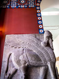 Assyrian Sculptures in Museum In Berlin Germany Royalty Free Stock Images