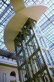 Asta cilindrica dell'elevatore Fotografie Stock