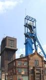 Asta cilindrica della miniera di carbone Immagini Stock