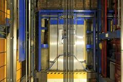 Asta cilindrica di elevatore Fotografia Stock