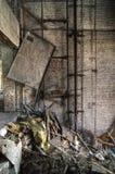 Asta cilindrica di elevatore rotta Fotografia Stock Libera da Diritti