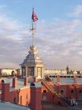 Asta de bandera Fotos de archivo libres de regalías