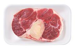 Asta de la carne de vaca Imágenes de archivo libres de regalías