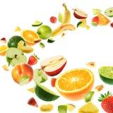 Asta della frutta Fotografia Stock