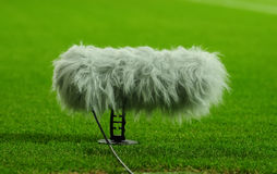 Asta di microfono Fotografie Stock