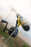 Asta di pesca Fotografie Stock Libere da Diritti