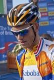 Asta gialla del Lars del supporto della Jersey Fotografie Stock