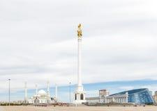 Astaná, Kazajistán - 3 de septiembre de 2016: El área del ` s de Kazajistán fotografía de archivo libre de regalías