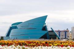 Astaná, Kazajistán - 3 de septiembre de 2016: La sala de conciertos central imagen de archivo libre de regalías