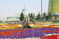 Astana. Δημοτικό τοπίο στοκ εικόνα με δικαίωμα ελεύθερης χρήσης