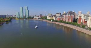 astana Река Ishim видеоматериал