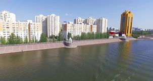 astana Река Ishim акции видеоматериалы