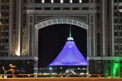Astana-Architektur Stockbild