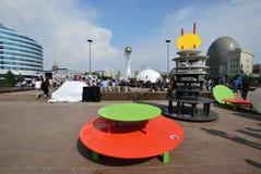Astana Art Fest 2016 Human Energy for Expo 2017 in Astana Royalty Free Stock Photo