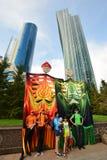 Astana Art Fest 2016 Human Energy for Expo 2017 in Astana Stock Images