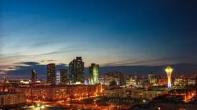 Free Astana At Dusk Royalty Free Stock Image - 78852046