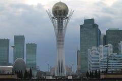 Astana Baiterek. Kazakhstan Astana baiterek Azia Europe royalty free stock image