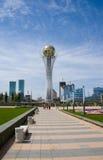 astana bayterekkazakhstan symbol Royaltyfri Bild