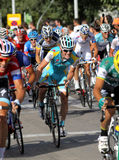 Astana Belgian cyclist Kevin Seeldraeyers Royalty Free Stock Photo