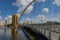 Astana bridge Stock Images