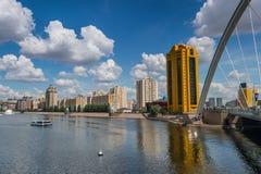 Astana bridge Royalty Free Stock Photography