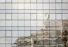 2010 Astana budynku biurowy odbicia lato okno Zdjęcie Royalty Free