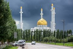 Astana - the capital of Kazakhstan Royalty Free Stock Photo