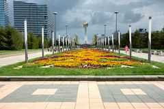 Astana - the capital of Kazakhstan stock photos