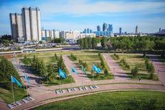 Astana - capitale del Kazakistan fotografia stock libera da diritti