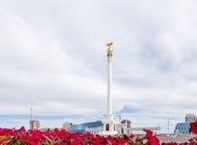 Astana, Cazaquistão - 3 de setembro de 2016: A área do ` s de Cazaquistão imagens de stock royalty free