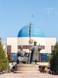 Astana, Cazaquistão - 4 de setembro de 2016: Monumento J mudado Kerey fotos de stock royalty free