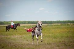 Astana, Cazaquistão, o 30 de junho festival internacional Imagens de Stock Royalty Free