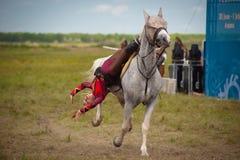 Astana, Cazaquistão, o 30 de junho festival internacional Imagem de Stock