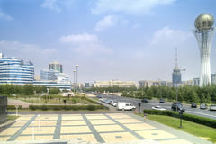 Astana. Center of city Royalty Free Stock Image