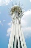 Astana. Center of city.  Monument Bayterek Stock Photo