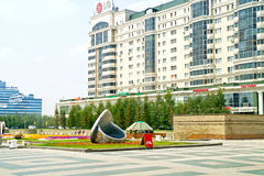 Astana. Center of city. Nurzhol Boulevard Royalty Free Stock Image