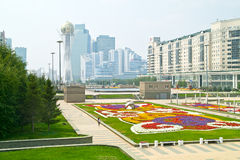 Astana. Center of city. Nurzhol Boulevard Stock Photo