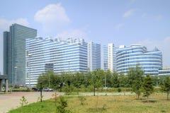 astana Centro da cidade Bulevar de Nurzhol Fotos de Stock Royalty Free