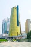 astana Centro della città Boulevard di Nurzhol Fotografie Stock