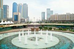 Astana cityscape royaltyfri fotografi