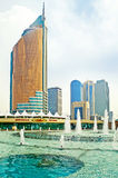 Astana, cityscape Royalty Free Stock Images