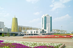 Astana. Complex of governmental building Royalty Free Stock Image