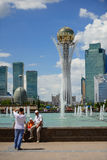 Astana downtawn 2 Royalty Free Stock Photography