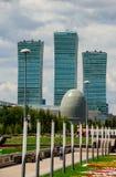 Astana downtawn 4 Stock Photo