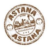 Astana grunge pieczątka Zdjęcie Royalty Free