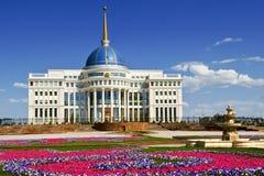 Astana - hoofdstad van Kazachstan stock foto