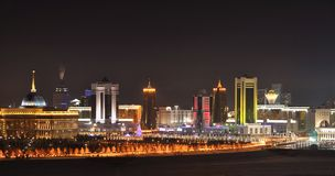 Astana huvudstad av Kasakhstan  Arkivfoto