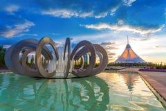 Astana il Kazakistan Fotografie Stock Libere da Diritti