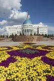Astana, il Kazakistan, il 2 agosto 2018: Residenza del presidente della Repubblica del Kazakistan Ak Orda a Astana, il Kazakistan fotografia stock