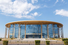 Astana, il Kazakistan - 6 settembre 2016: Barys - arena del ghiaccio immagine stock
